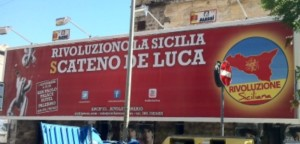 Manifesti per le elezioni regionali Sicilia 2012